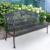 multi-functional customize Cast Iron Park Outdoor Garden Bench frame