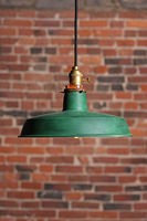 Vintage industrial pendant suspension lamp lighting