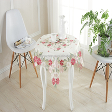 Home taxtile factory supply colorful pattern dining table cover