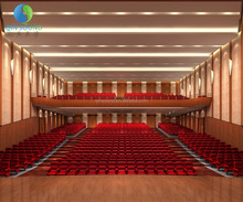 Hotel Project Soundproof Acoustic Materials Used In Auditorium