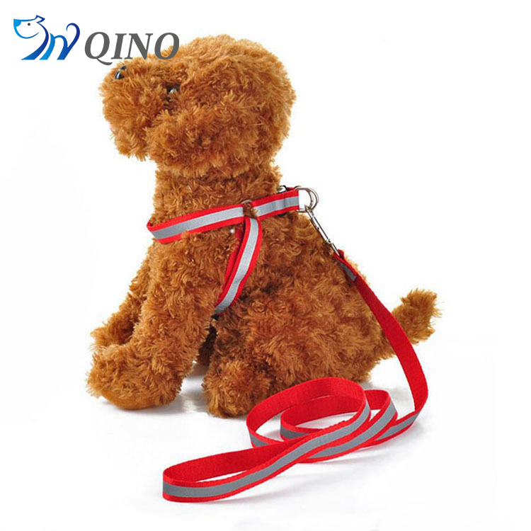 QN-A-0668 best sell custom-made nylon dog leash and harness