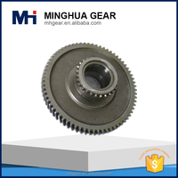 OEM customized auto part forging horizontal machining helical and spur gear