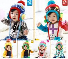 MZ2288 boy girl child baby knitted hat 3-18Month