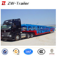 3 axle 8 cars transporter/car trailer