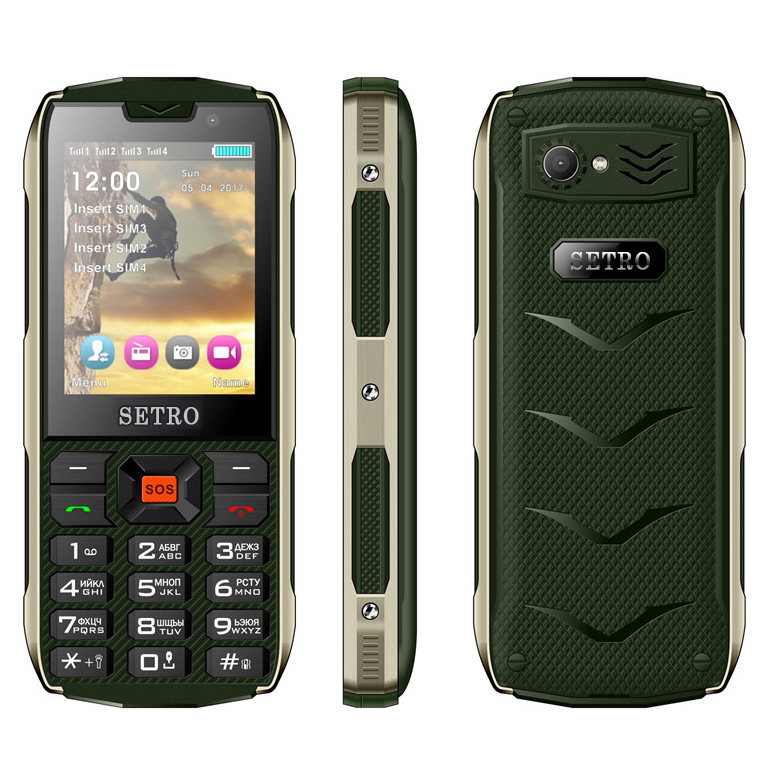 Setro SH8 GSM Changer Magic Voice 3 inch Unlocked Cell Phones Dropship 10850 mAh Sos Elder Phone