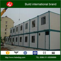 Steel structure container living house 20ft container house dormitory rooms