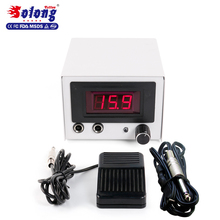 Solong tattoo ac dc adjustable voltage tattoo power supply