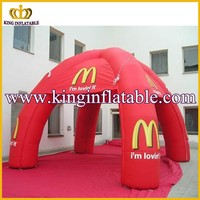 4 Legs Red Used Ourdoor Camping Inflatable Air Dome Tent For Sale