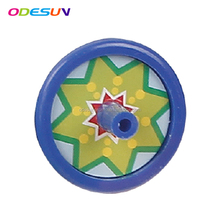 2018 cheap promotional gift plastic children spinning toy spinning top