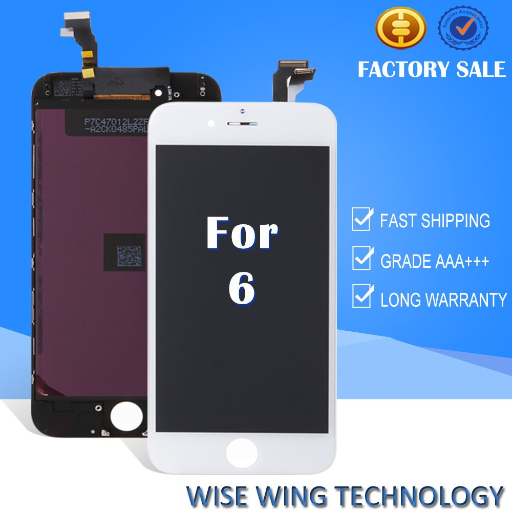 Super quality mobile phone lcd for iphone screen 6,for iphone6 display