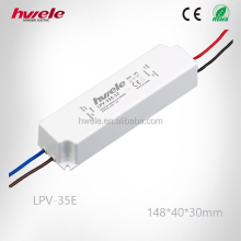 LPV-35E LED constant voltage waterproof led power supply 12v power driver