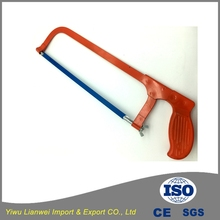 Hot sale high quality hand tools hacksaw blade cutting hacksaw frame hand saw