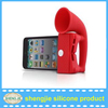 Best selling silicone Amplifier,silicone loudspeaker for iphone
