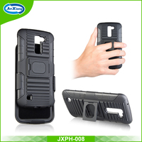PC TPU heavy duty hybrid shockproof defender case for LG K10 Q10