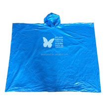 cheap plastic disposable hooded rain coat/raincoat/rain poncho with custom logo