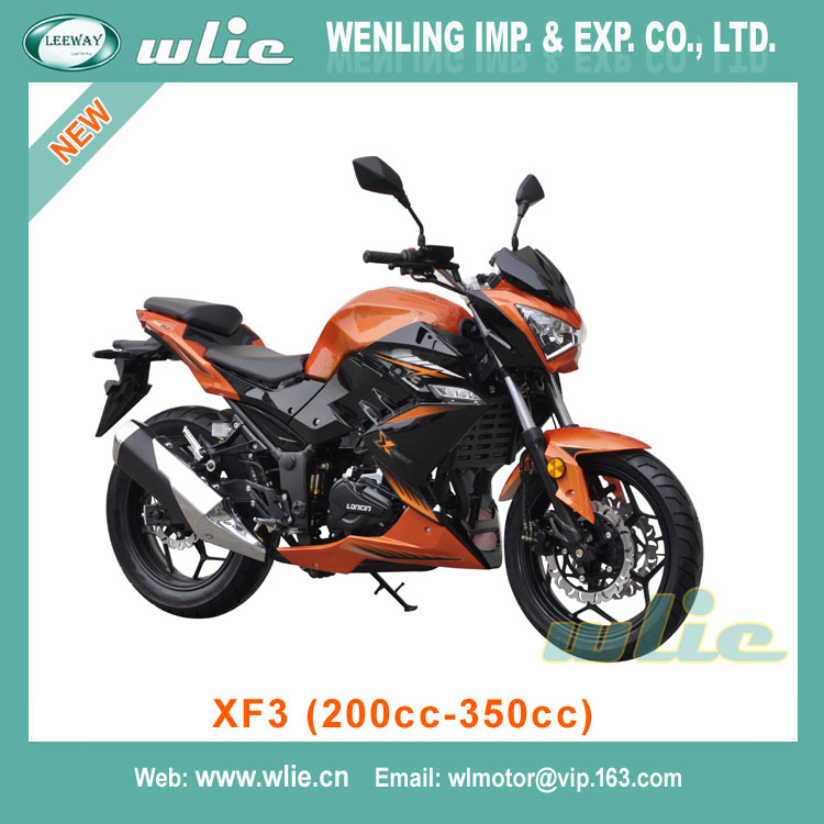 CHEAP PRICE motorcycle 250 cc motor scooter with pedals moto cafe racer Street Racing Motorcycle XF3 (200cc, 250cc, 350cc)