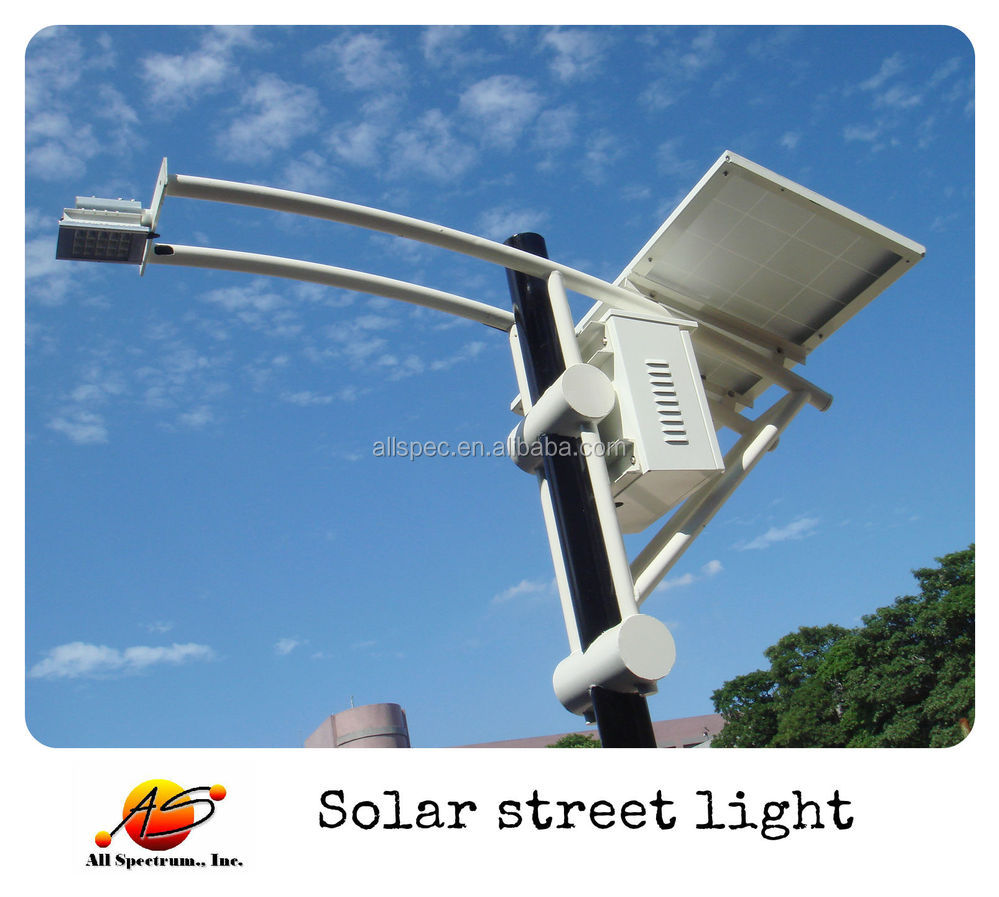 110W customer design high watt outdoor solar led street lamp