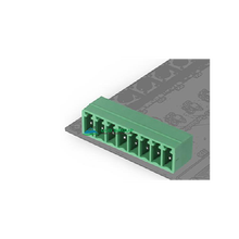 3.81 mm Pitch 10 pin male terminal block connector right angle