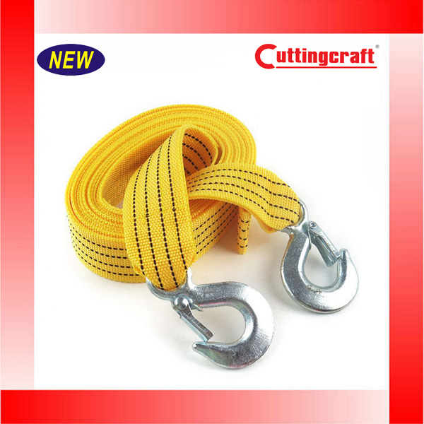 3M 4 Tons Car Tow Strap Tow Cable Tons Heavy Duty Pull Rope Van Yellow Strap