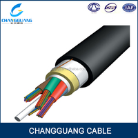 Self Supporting ADSS 24 core optic fiber cable price from manufacturer