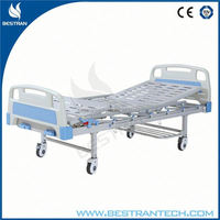 BT-AM202 2 functions discount antique iron hospital bed with rails
