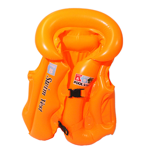 inflatable children swim vest inflatable life jacket for kids