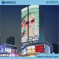 Minvol supply high transparency outdoor led display, led display board