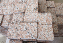 Chinese cheap price red granite G562 Maple red Paving stone