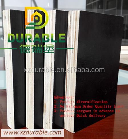 Durable Black Color 12MM Plywood /Film Faced Plywood Price 21MM Thickness plywood for sale