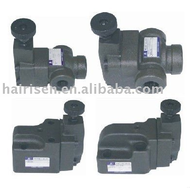 RV series pilot operated relief valves