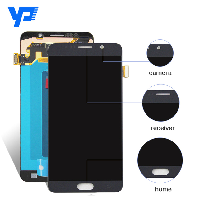 Alibaba hot sale for Samsung Galaxy Note 5 lcd digitizer assembly replacement,for Samsung Note 5 lcd touch screen