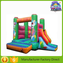 New lovely cartoon inflatable bouncy house combo castle amusement park equipment
