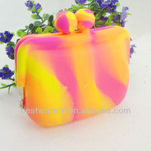 Colorful mini silicone rubber party bag