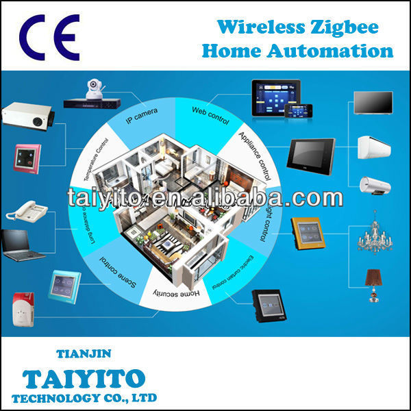 zigbee home automation,intelligent automate control house system