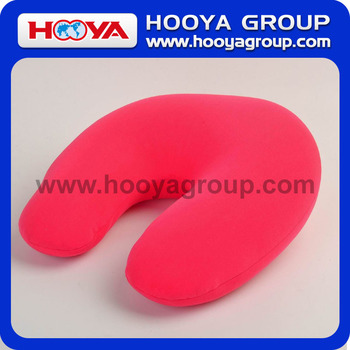 Solid U-shaped Travel Pillow