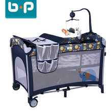 European quality folding baby crib new born baby bed
