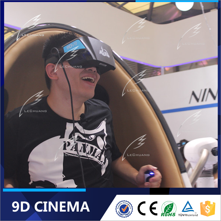 Most Popular Virutal Reality Game Mobile 9D Egg VR 9D Cinema Immersive Experience