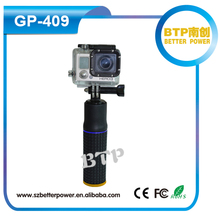 New Products GP-409 5200mAh Mobile Power Bank Selfie Stick Power Grip For Gopro Hero 5