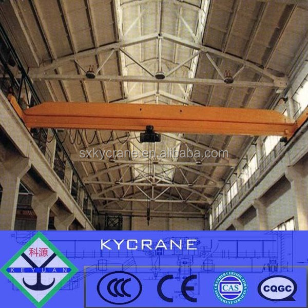 Single Beam Motor-driven Traveling Overhead Crane, Bridge Crane 5 ton, 10 ton, 20 ton