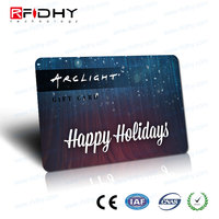 Customized Invisible UV rfid security card for Warehouse management solution