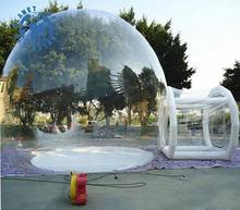 Wholesale Outdoor Inflatable Transparent Bubble Tent/Clear Camping Tent/ Crystal Bubble Tent for sale