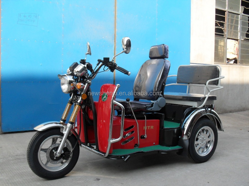 Petrol vehicles for disabled motor tricycle for handicapped gas tricycle for elder (SY110ZK-A)