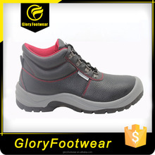 mesh lining steel toe dual density PU outsole safety shoes