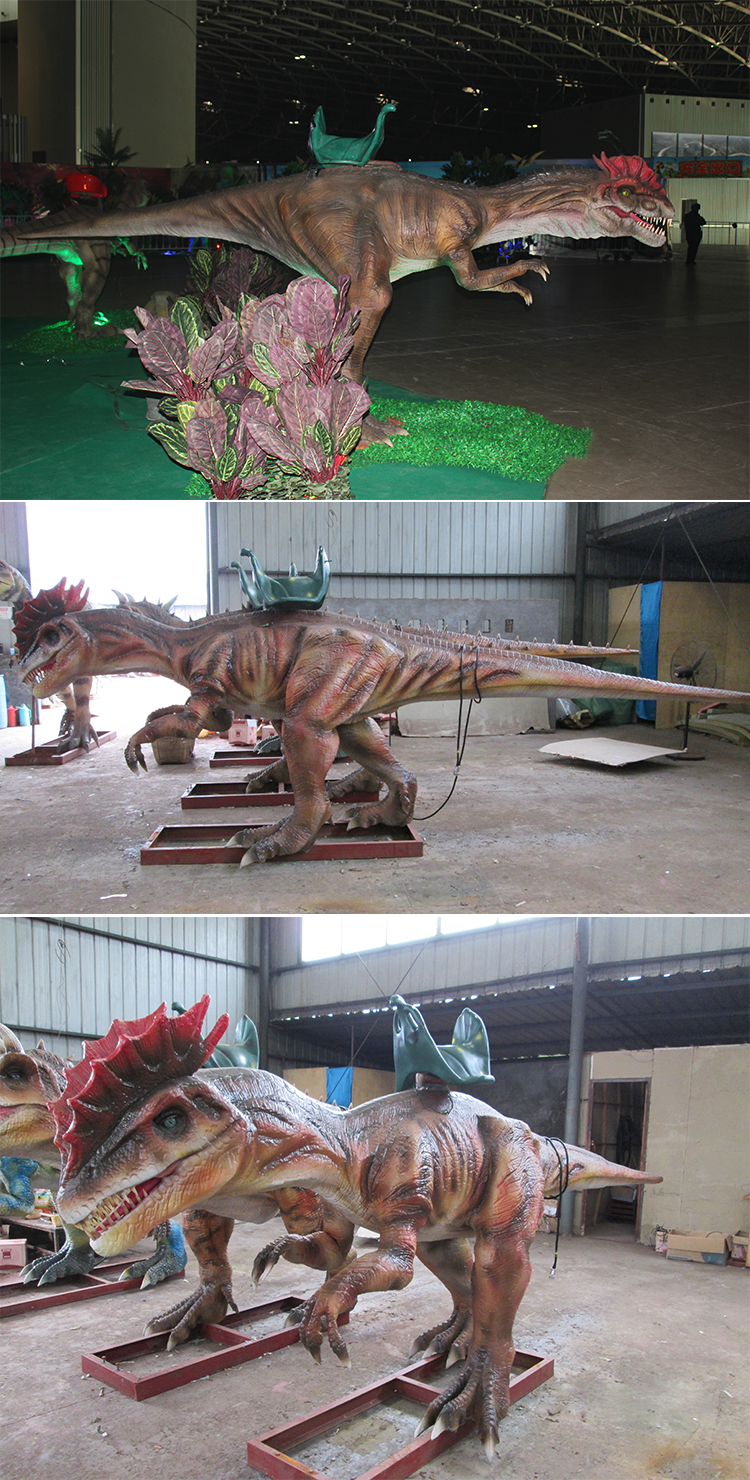 KANO-203 Theme Park Happy Amusement Dilophosaurus ride