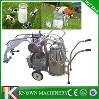 New model 25liter manual milking machine,cow milking machine,milking machine for sale