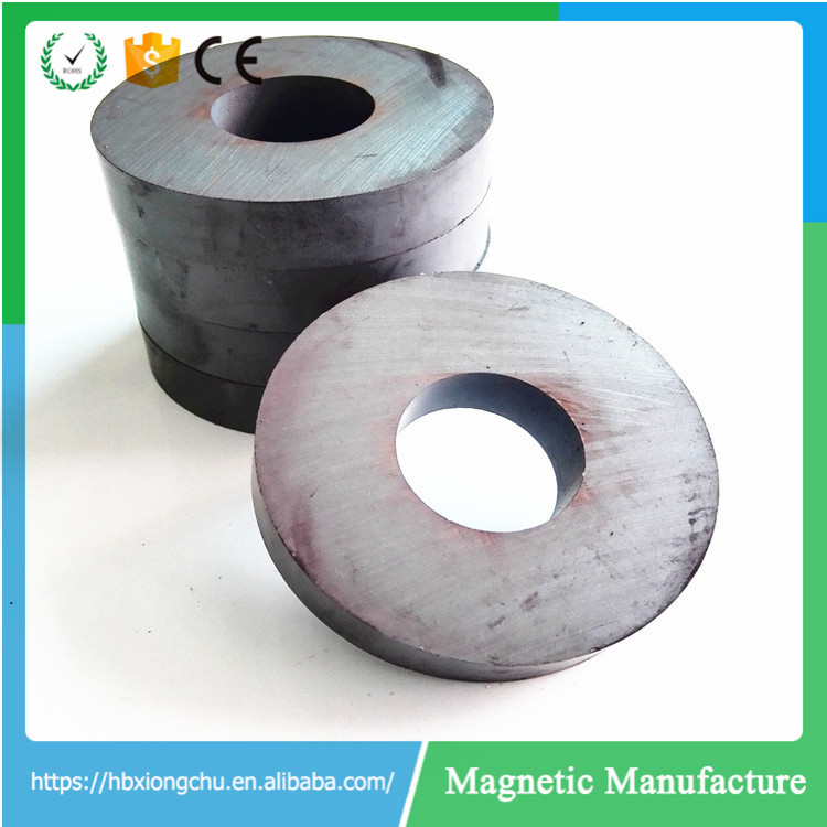 Various Size of Ring Ferrite Magnets Used in Speakers generators