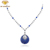 jewelry silver pendant micro cz necklace for women