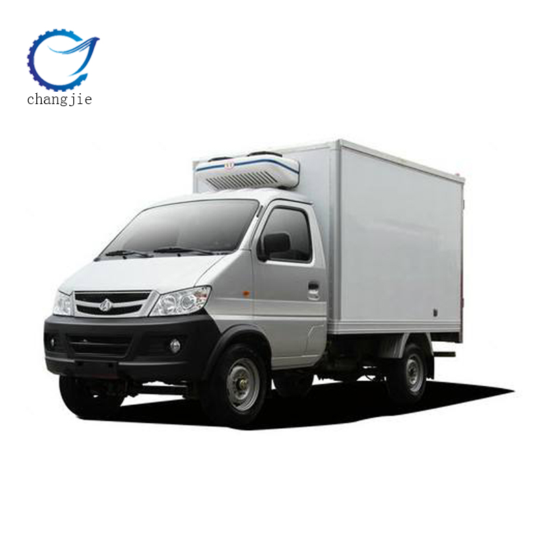hot-selling 2 ton freezer refrigerated truck