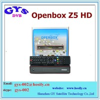 Full HD RVP 3G GPRS receiver original openbox z5 USB wifi satellite TV reciver support free IPTV, DLNA TOP BOX openbox z5