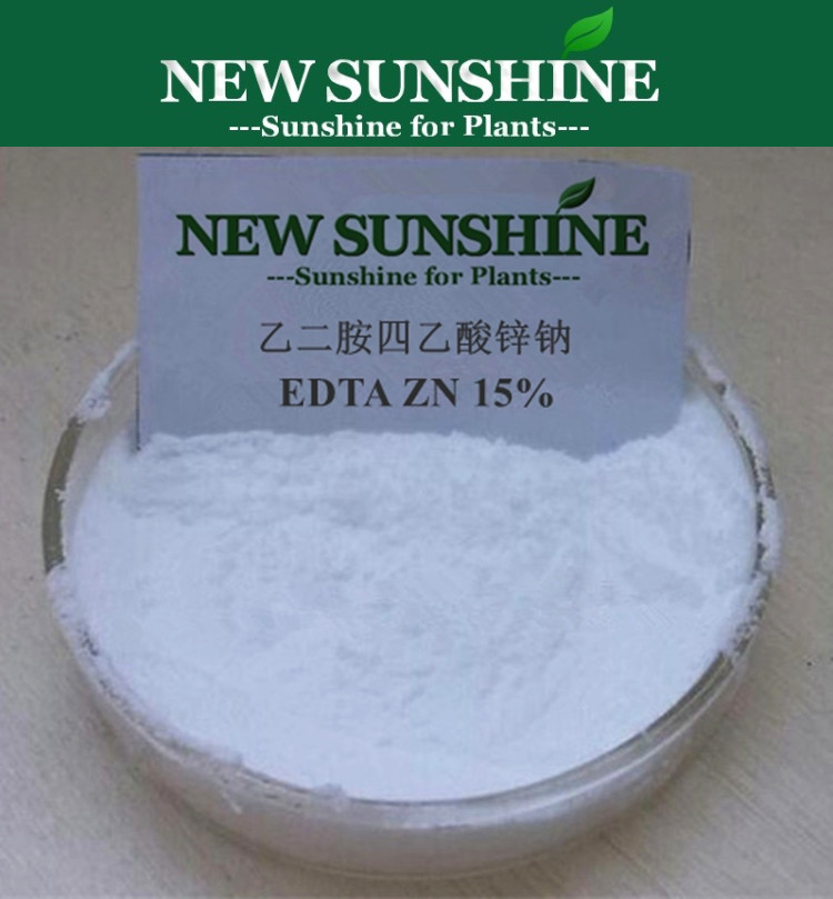 Supply High Quality EDTA Chelated Zinc fertilizer